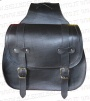 Satchel bag leather motorcycle harley custom chopper