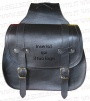 Bisaccia motorcycle bag 33 liters leather custom harley chopper with customization