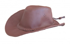 Cappello Western Cowboy cowntry hat cap chapeau hut skin leather Hautstern
