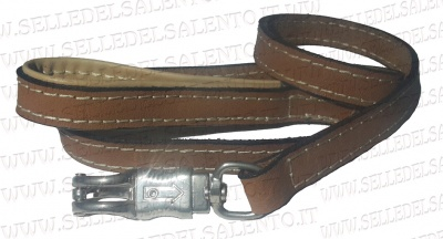 Leash Leather Buffalo 140 cm for Large Size Dogs
