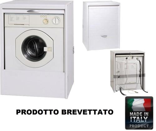 Mobile noce per lavatrice la scelta giusta variata sul for Coprilavatrice esterno