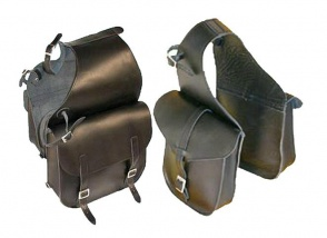 Set for front and rear seat saddlebags Trekker